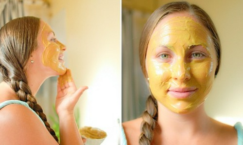 куркума маски для кожи