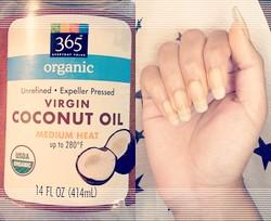 масло кокоса для ногтей