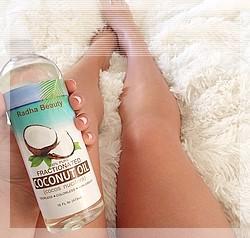 Обертывание кокосовым маслом от целлюлита