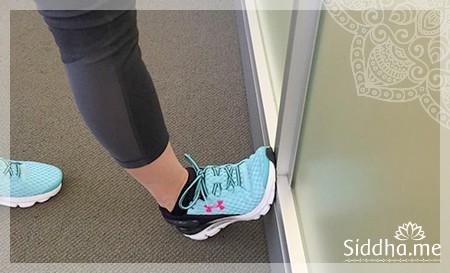 Упражнение для икроножных мышц для женщин