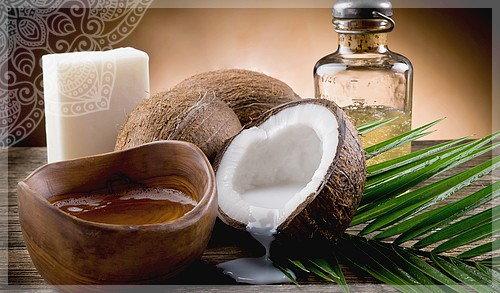 наносить кокосовое масло для ресниц