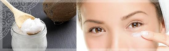 кокосовое масло для глаз