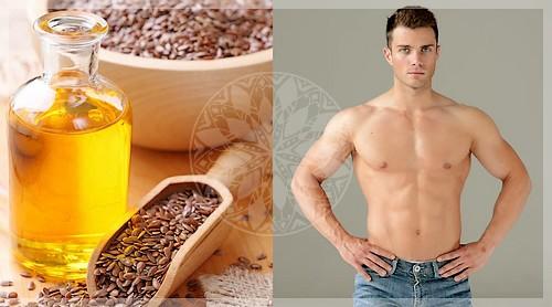Польза льняного масла для мужчин