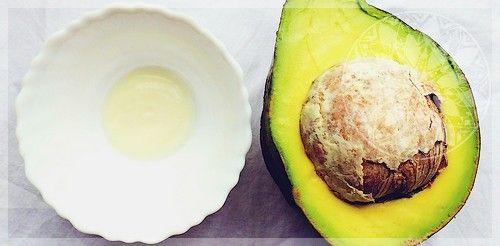 Маска из авокадо и йогурта для кожи лица