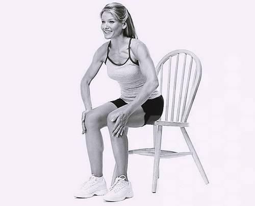 похудеть в бедрах - упражнения