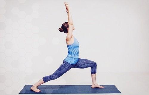 Вирабхадрасана - упражнения для сердца и сосудов