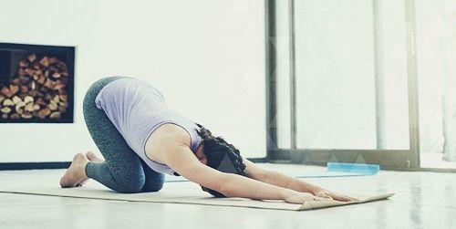 Йога для снятия напряжения в плечах