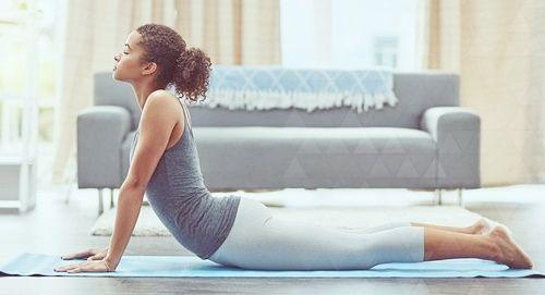 Йога для снятия напряжения в мышцах грудной клетки