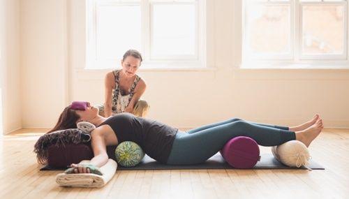Восстанавливающая йога