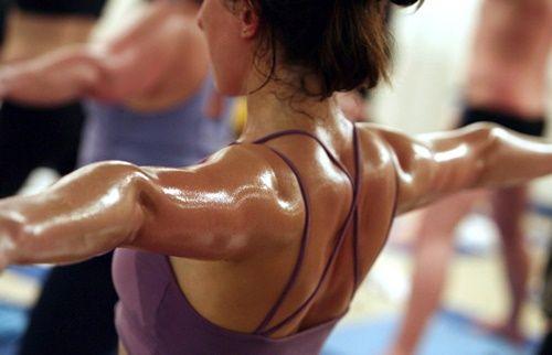 Бикрам/горячая йога